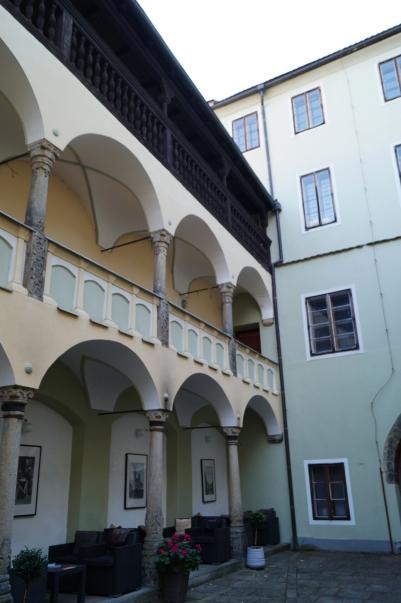 Schirndinger Haus Innenhof