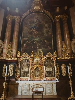 Basilika Waldsassen - Heilige GräberInnenansicht